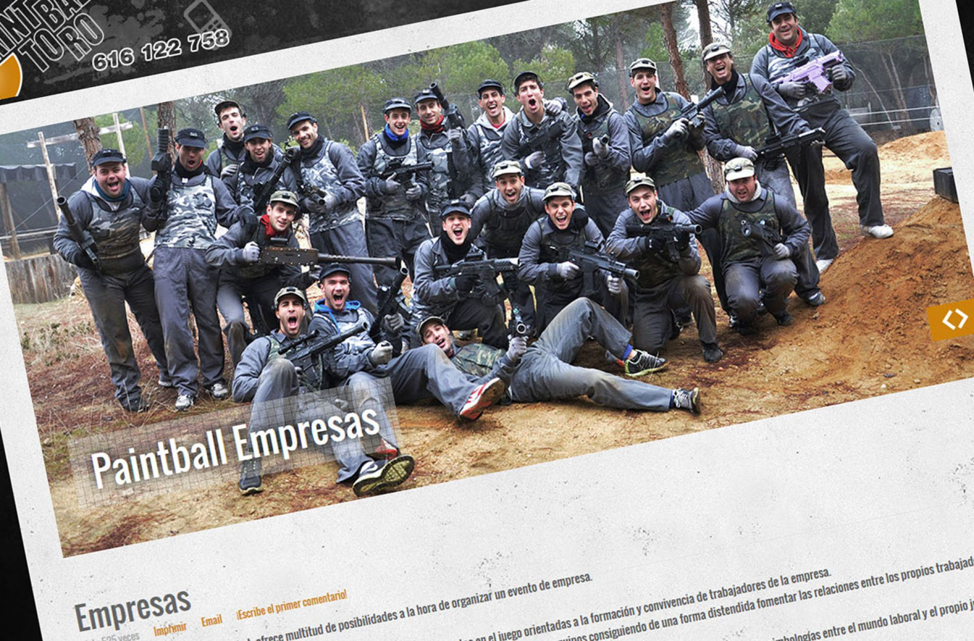 Paintball Toro